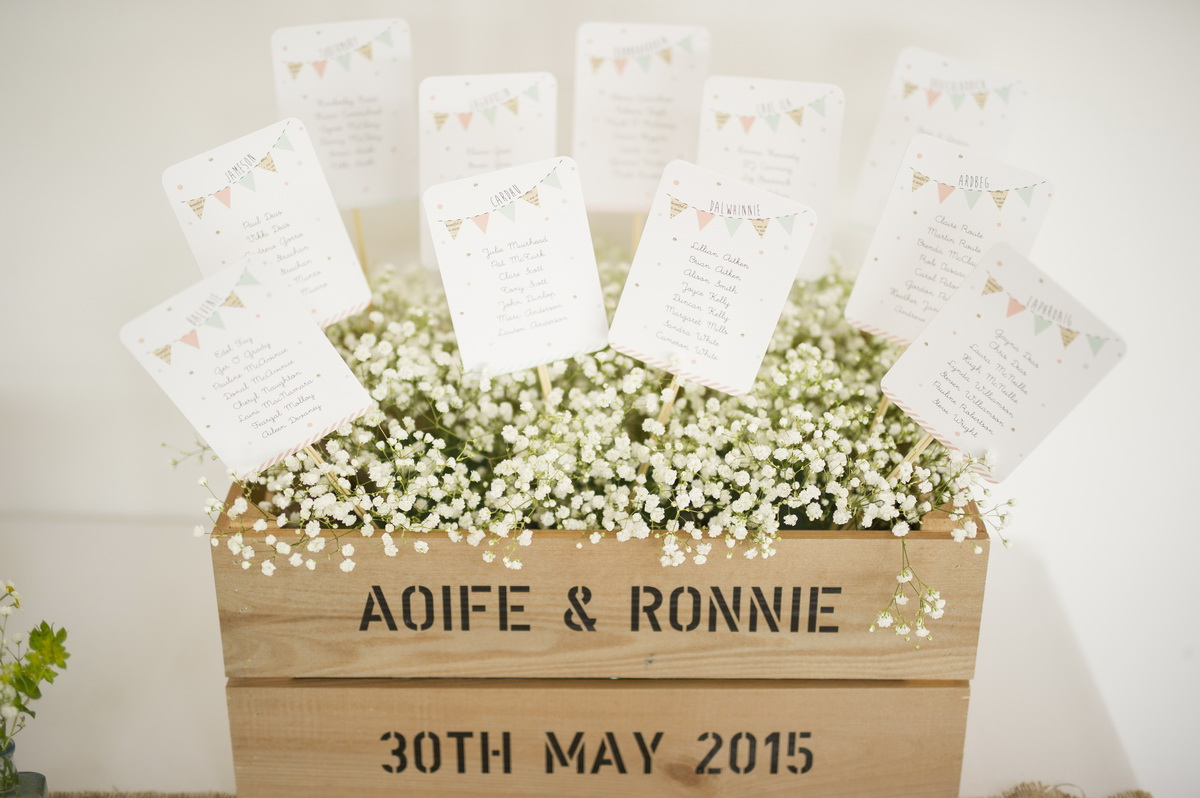 Wedding Inspiration - Seating Plans & Place Names