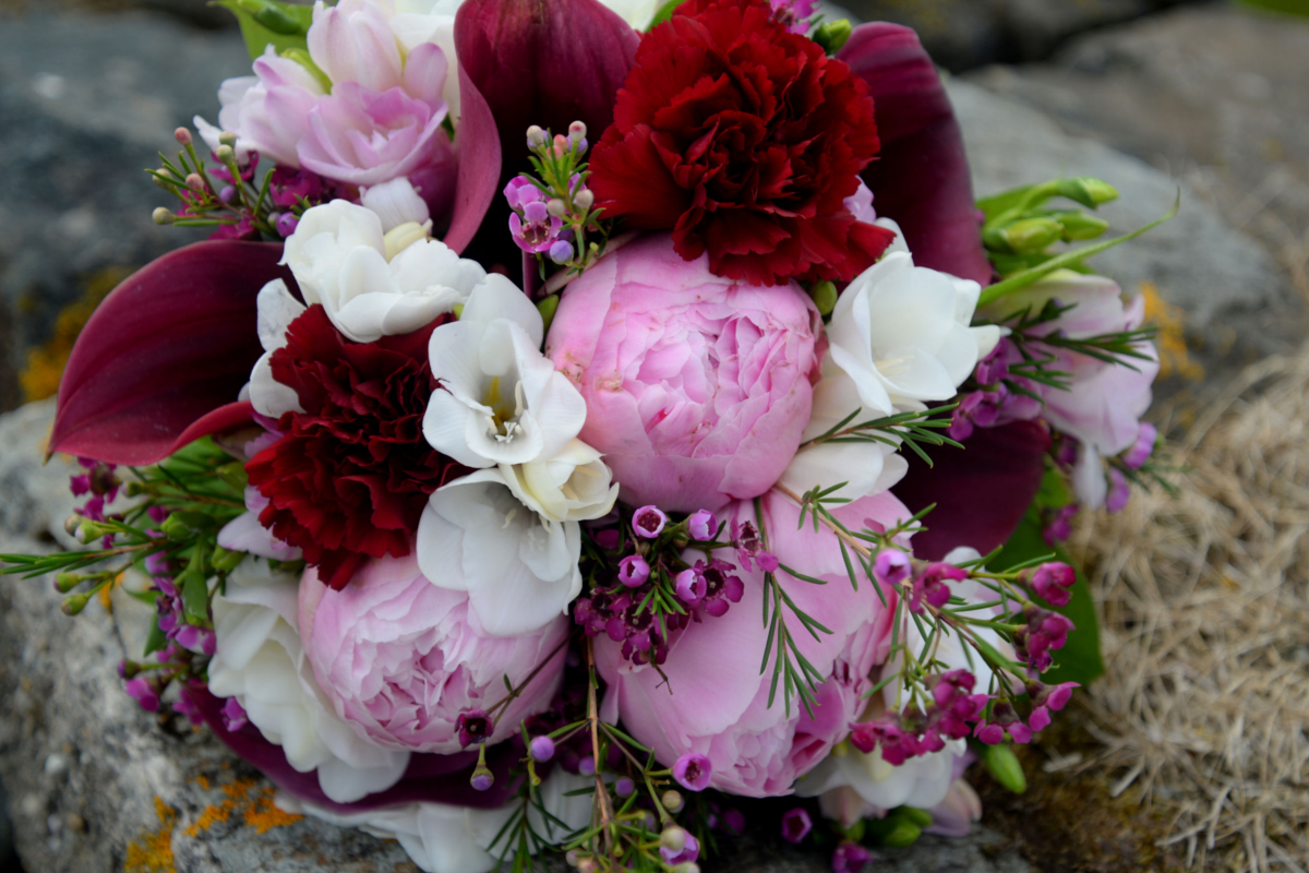 Wedding Flowers Bridal Bouquets In Hot Pink