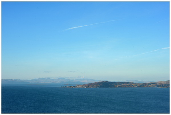 Seascape Ocean Jura Skyline Horizon West Coast Blue