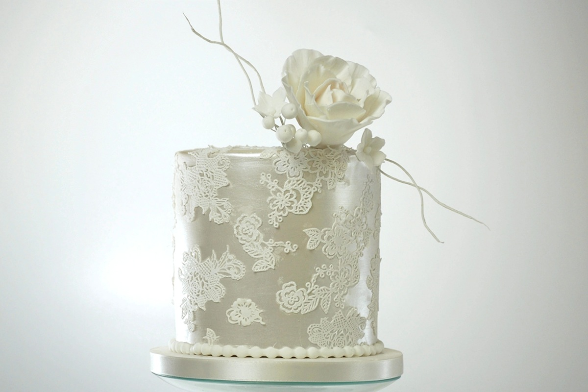 Wedding Cakes for Small Crear Weddings